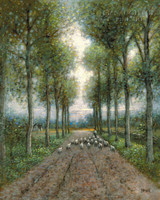 Shepherd's Lane 24 x 30 LE Signed & Numbered - Giclee Canvas