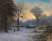 Winter Quarters 24 x 30 LE Signed & Numbered - Giclee Canvas
