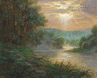 Susquehanna River 24x30 LE Signed & Numbered - Giclee Canvas
