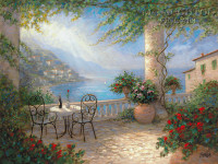 A View to Remember 24x30 LE Signed & Numbered - Giclee Canvas