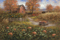 Autumn Harvest 11 x 14 LE Signed & Numbered - Giclee Canvas