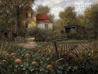 October Remembered 18 x 24 LE Signed & Numbered - Giclee Canvas