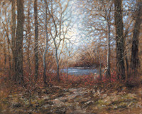 Quiet Place 20 x 24 LE Signed & Numbered - Giclee Canvas
