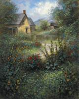 Country Home 11x14 LE Signed & Nimbered - Giclee Canvas