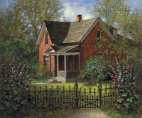 Old Victorian 20x24 LE Signed & Numbered - Giclee Canvas