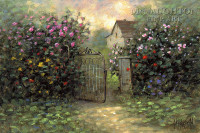 Rose Gate 16x20 LE Signed & Numbered - Giclee Canvas
