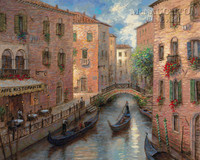 Venetian Memory 24x30 LE Signed & Numbered - Giclee Canvas