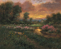 Day's End 28x35 - Giclee Canvas