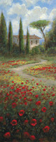 Bella Tuscany 2 10x20 OE Signed by Artist - Giclee Canvas