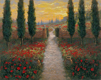 Tuscan Portal 16x20 LE Signed & Numbered - Giclee Canvas