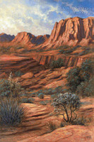 Canyon Shadows 11x14 LE Signed & Numbered - Giclee Canvas