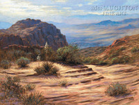 View of the Valley 28x35 - Giclee Canvas