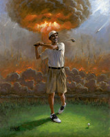 Obama Foreign Policy 16x20 LE Signed & Numbered - Giclee Canvas