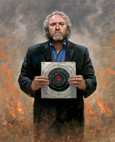 Andrew Breitbart - No Fear 20X24 Giclee Canvas Signed
