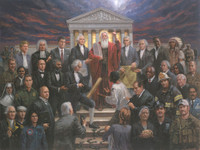 Justice for All - 18X24 Giclee Canvas, Limited Edition, 250 S/N