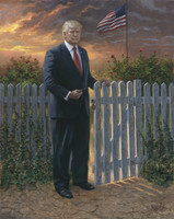 Make America Safe - 20x24 Canvas Giclee, Limited Edition, S/N 200