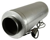Isomax 200mm 3 Speed Acoustic Inline Tube Fan (900 M3/hr)