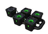 Alien Hydroponics 4 Pot  RDWC Pro 34 litre 50cm centres