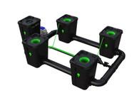 Alien Hydroponics 4 Pot  RDWC Pro 55 litre 100cm centres