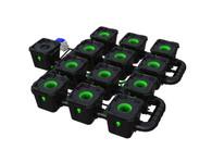 Alien Hydroponics 12 Pot  RDWC Pro 34 litre 50cm centres