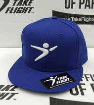 Flight Man Snapback - Classic Blue