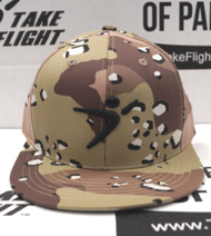 Flight Man Snapback - Desert