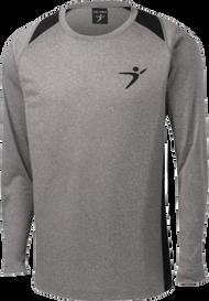 Flight Man Performance Long Sleeve - Gray/Black