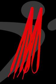 Take Flight 1.0 Custom Shoe Laces - Red