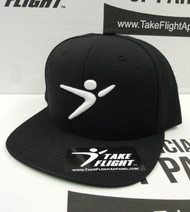 Flight Man Snapback - Black