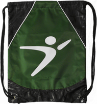 Flight Man Cinch Bag - Green
