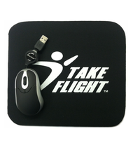 Take Flight Mouse Pad
