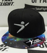 Flight Man Snapback - Galaxy