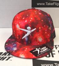 Flight Man Snapback - Stardust Red Giant