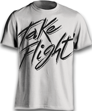 Take Flight to the Fullest Tee - Silver