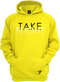 Our Take Flight Hoodie in our yellow version.