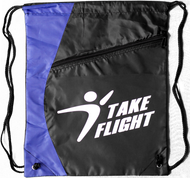 Take Flight Cinch Bag - Royal Blue
