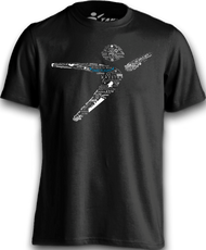 Flight Man Universe Tee - Black