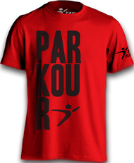 The Original Parkour Tee II - Red