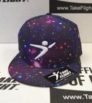 Flight Man Snapback - Stardust Deep Space