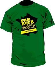 Lisses France Parkour Tee - Green