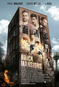 Brick Mansions Movie Poster 27x40 (OFFICIAL + COLLECTIBLE)