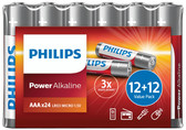Philips Power Alkaline Batteries - Shrink Wrap Value Pack [PH057]
