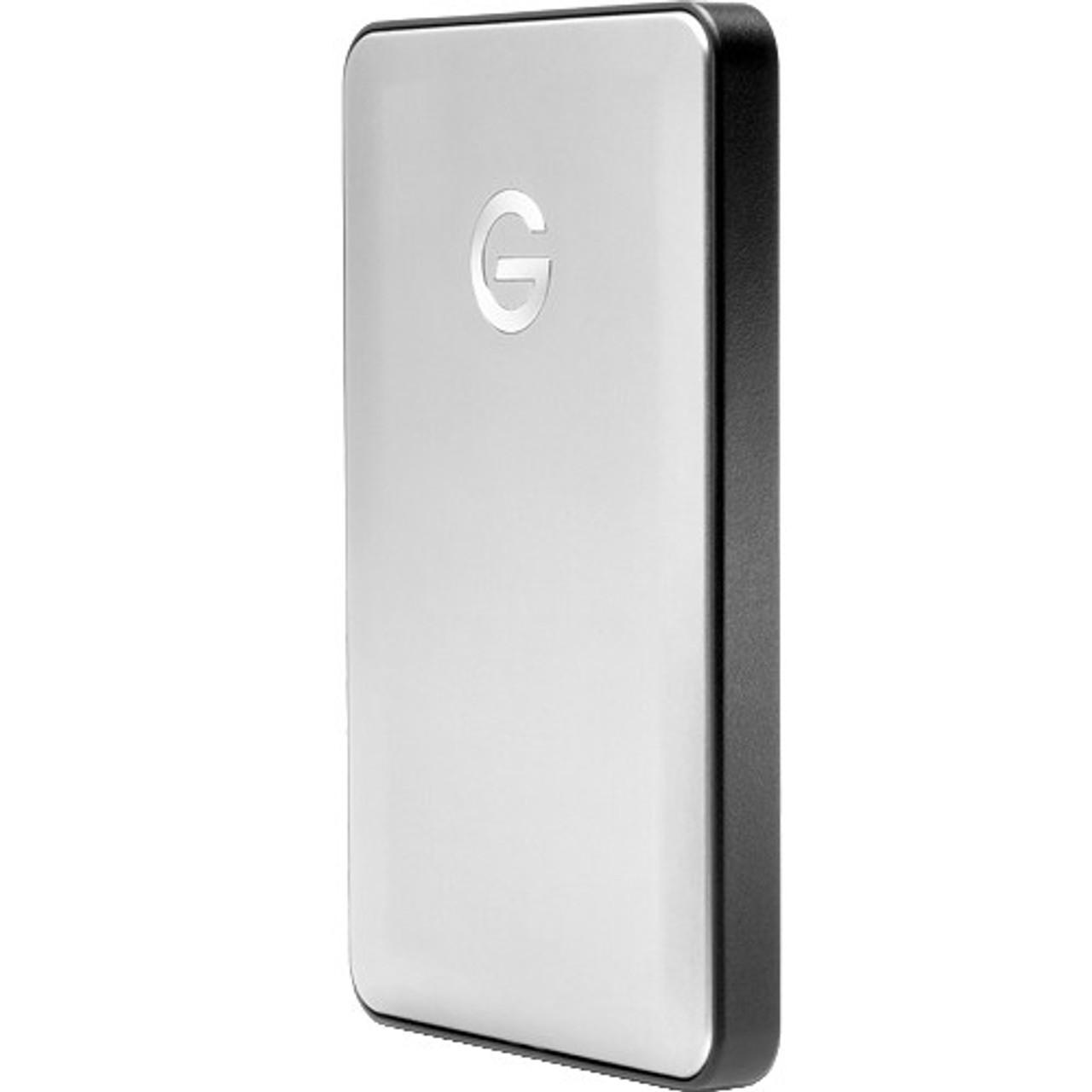 G-Technology 1TB G-DRIVE Mobile USB-C Silver