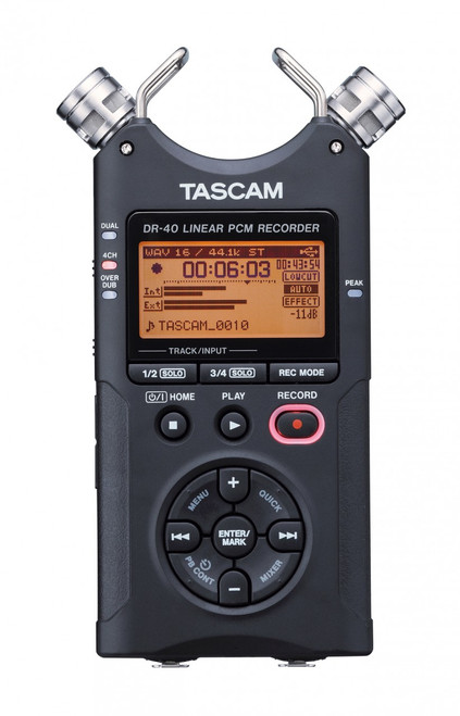 Tascam DR-40 4 Channel Digital Audio Recorder