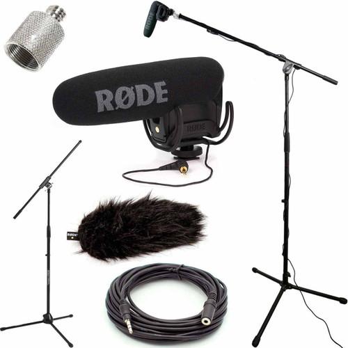 RODE VideoMic Pro Microphone Studio Boom Kit