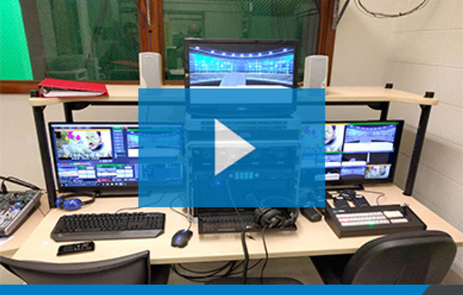 'Old School' Upgrade:  Video Production Class Goes HD