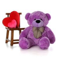4ft DeeDee Cuddles  gorgeous bright light purple fur soft and cuddly
