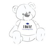 Giant Teddy Bear I Did It T-shirt