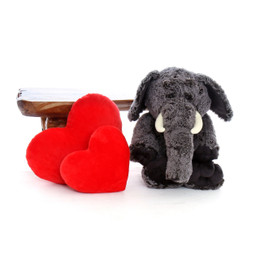 30in Big Stuffed Lucy Elephant
