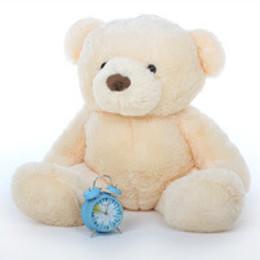 Smiley Chubs Cuddly and Soft Smooth Vanilla Cream Teddy Bear 38in